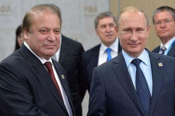 نواز شریف کی روسی صدر کو دورہ پاکستان کی دعوت