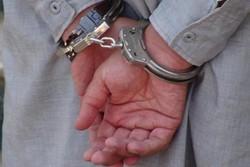 دستگیری حفاران غیر مجاز در رومشکان