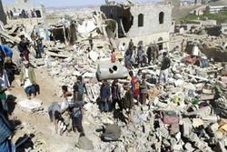 ارتفاع حصيلة ضحايا العدوان السعودي على سوق شعبية باليمن الى اكثر من 100 شهيد