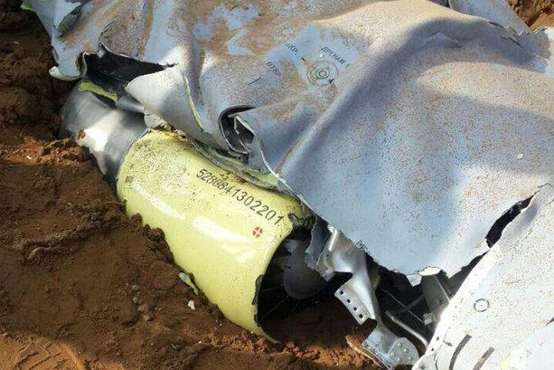 Unknown drone crashes in Shoush, Khuzestan