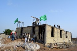 پروژه محرومیتزدایی بسیج سازندگی اردوی جهادی