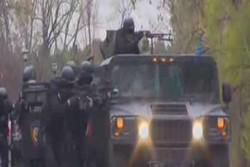 فلم/سربیا میں دہشت گردوں کا مقابلہ کرنے کے لئے فوجی مشقیں