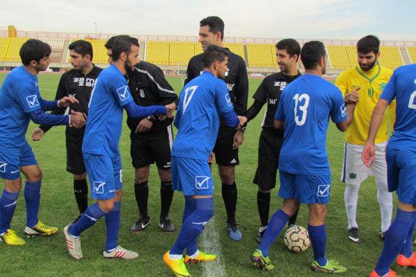 تیم فوتبال كاسپین قزوین با تساوی یک پله سقوط کرد