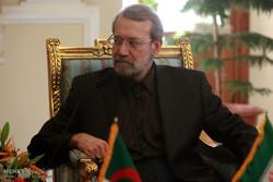 دیدار نخست وزیر الجزایر با علی لاریجانی