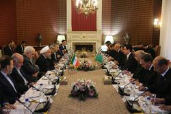 Joint meeting of Iran, Turkmenistan high-ranking officials