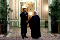 دیدار روسای جمهور ایران و ونزوئلا