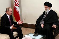 دیدار پوتین با رهبر انقلاب