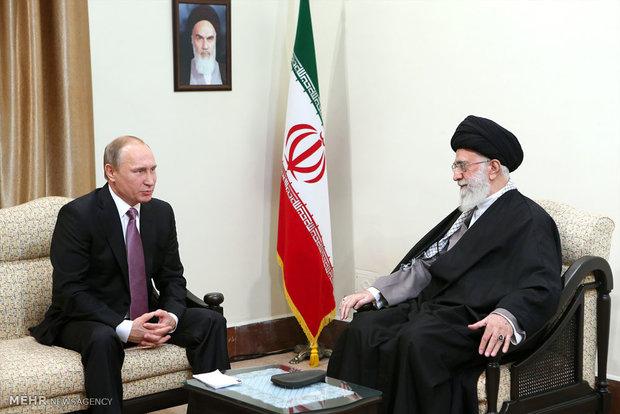 هدیه ویژه پوتین به امام خامنهای +عکس