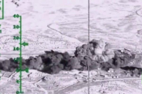 فیلم/ عملیات بمب افکن های استراتژیک روسی در سوریه