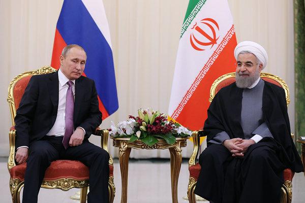 بوتين: توجد نتائج ملموسة لتعاوننا مع إيران في تسوية الأزمة السورية