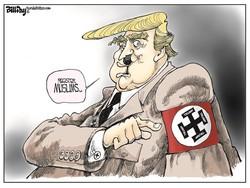 Adolf Trump!/ Karikatür