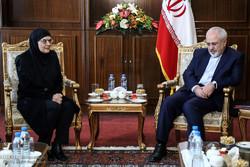 دیدار رییس مجلس صربستان و وزیر خارجه قزاقستان با محمد جواد ظریف وزیر خارجه