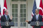 گفتگوی تلفنی اوباما و اردوغان/ مقابله با داعش محور مذاکرات