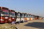 فعالیت روزانه ۳۰۰۰ دستگاه اتوبوس برای بازگشت زوار