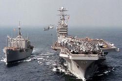 مجموعة سفن صينية ترسو في مرفأ بندر عباس جنوبي إيران