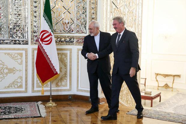 لقاء وزيري خارجية ايران ولوكسمبورغ