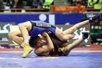 نماینده ایران باشکست آمریکا قهرمان شد/ یزدانی قهرمان المپیک را ضربه کرد
