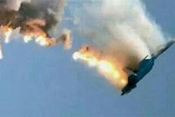یک جنگنده عربستان در جنوب یمن سقوط کرد