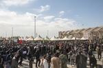 تردد زائران از مرز مهران به صورت روان در جریان است