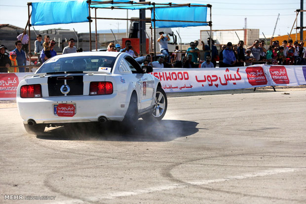 Drifting event in Kish Island