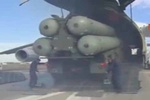فیلم/استقرار سامانه اس ۴۰۰ در پایگاه حمیمیم سوریه