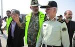 جانشین فرمانده ناجا از مرز بینالمللی مهران بازدید کرد