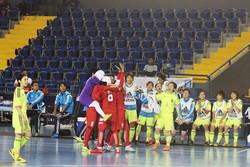 Women futsal players finish 7th in World Tournament