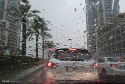 بارندگی کم سابقه در قطر