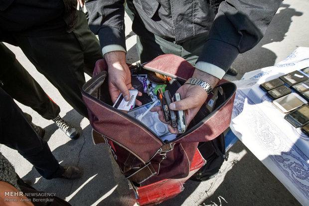 متلاشی شدن دو باند سارق مامورنما و باند سرقت داخل خودرو