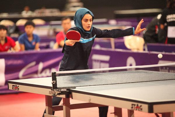 بانوی البرزی مسافر مسابقات جهانی تنیس روی میز شد