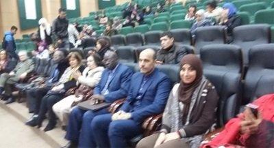 """اسئلة محرجة خلال مؤتمر """"السلام العالمي"""" في الجزائر"""