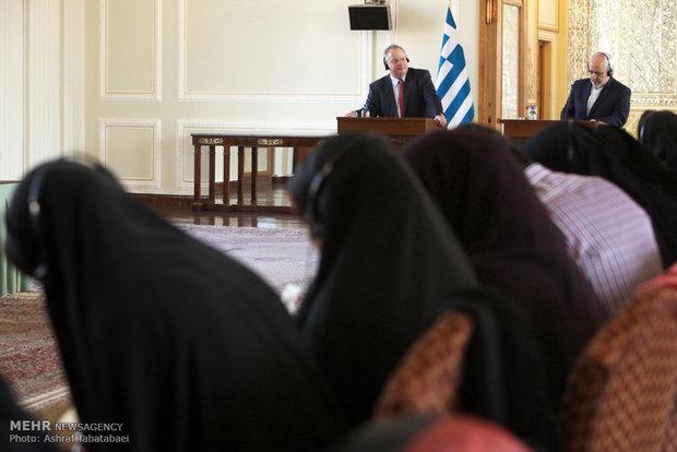 İran ve Yunanistan dışişleri bakanları görüşmesi