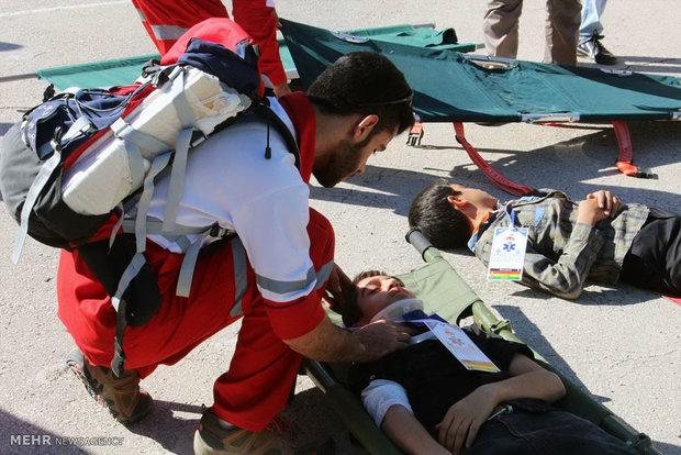 موفقیت استان بوشهر در برگزاری آموزش بحران و مانور زلزله در مدارس