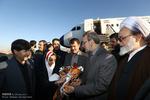 ورود رئیس مجلس شورای اسلامی به ایلام