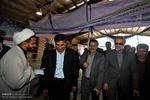 بازدید رئیس مجلس شورای اسلامی از نقطه صفر و پایانه مرزی مهران