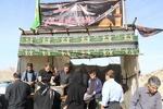برپایی ایستگاه صلواتی دانشگاه ایلام در مرز مهران