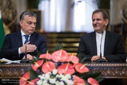 مراسم استقبال رسمی از نخست وزیر مجارستان