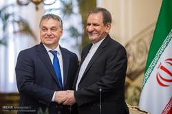 النائب الاول لرئيس الجمهورية يستقبل رسميا رئيس وزراء المجر