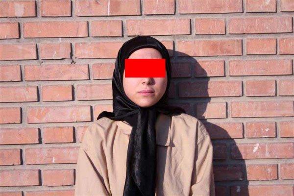 زن متهم به قتل
