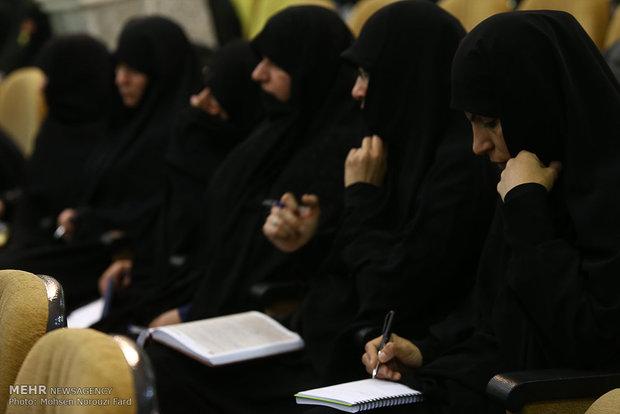 اساتید متقاضی تدریس در مدارس علمیه خواهران بوشهر ارزیابی شدند