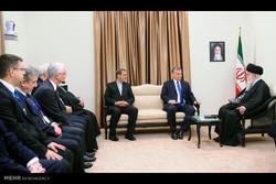 Leader receives Hungarian premier