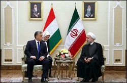 Rouhai, Orban meet in Tehran to discuss strengthening ties