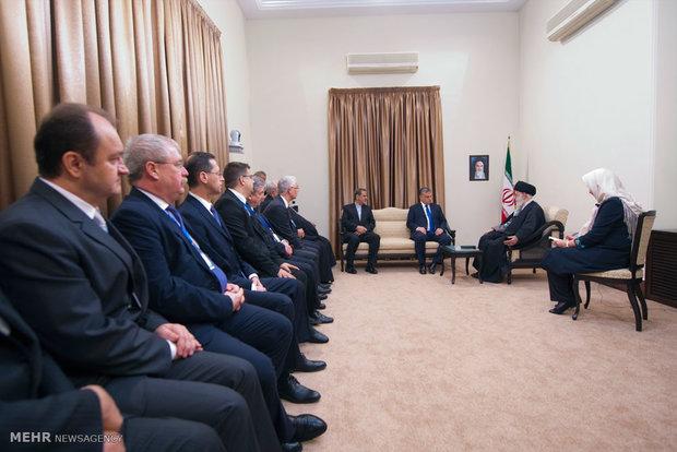 دیدار نخست وزیر مجارستان با رهبر معظم انقلاب اسلامی