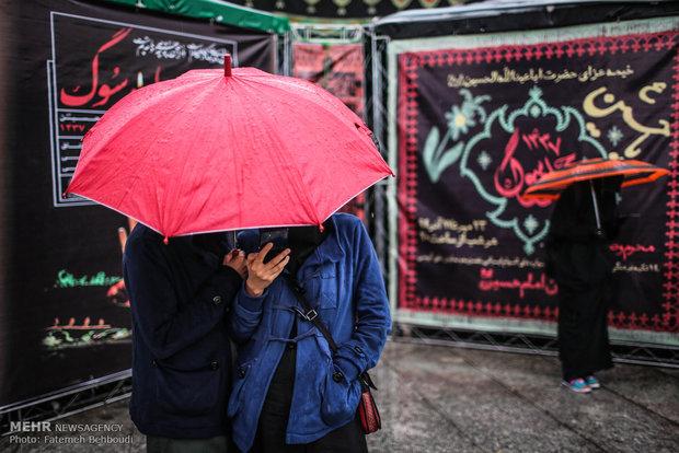 مسيرات الأربعين الحسيني في طهران
