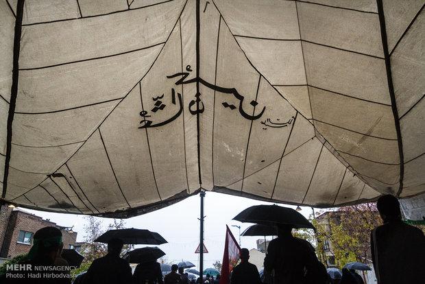 راهمسيرات الأربعين الحسيني في طهرانپیمایی عظیم اربعین حسینی در تهران-3