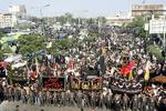 پاکستان میں حضرت علی(ع)  کے یوم شہادت کے موقع پر جلوس اور مجالس عزا کا اہتمام