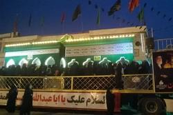 رونمایی از ضریح خیمهگاه حضرت قاسم و امام حسین(ع) در استان بوشهر