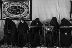 مجلس عزاداری بانوان همدانی در ماه محرم