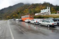 ترافیک در جاده هراز