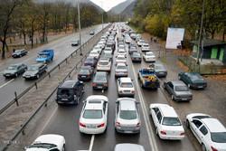 جاده چالوس مسدود شد/ هجوم مسافران به محورهای هراز  و فیروزکوه